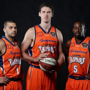 Proud supporters of the Cairns Taipans
